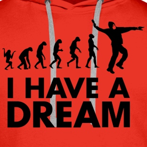 I HAVE A DREAM - Sweat-shirt à capuche Premium pour hommes