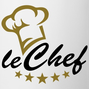 5 stars chef hat, cook, kitchen, restaurant, hotel T-Shirts - Mug