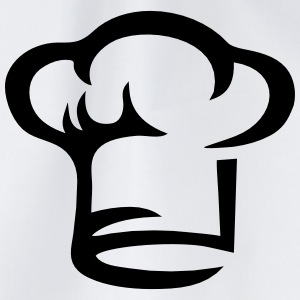 Chef hat, cook, hotel kitchen, cooking, restaurant T-shirts - Sportstaske