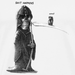 shit happens - Premium T-skjorte for menn
