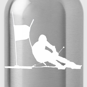 skiing Shirts - Water Bottle
