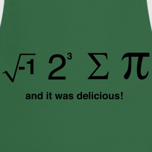I ate pi and it was delicious T-Shirts - Cooking Apron