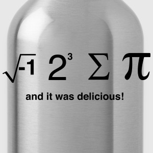 I ate pi and it was delicious T-Shirts - Water Bottle