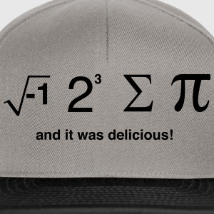 I ate pi and it was delicious T-Shirts - Snapback Cap