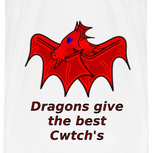 wales dragons give the best welsh cwtch's - Men's Premium T-Shirt