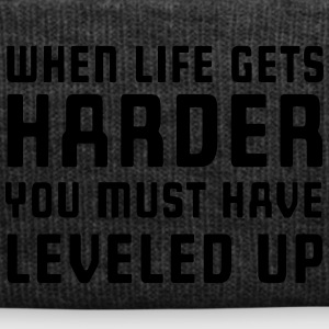When life gets harder you must have leveled up T-Shirts - Winter Hat