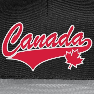Canada Maple Leaf 2 Color Tail-Design T-Shirt - Snapback Cap