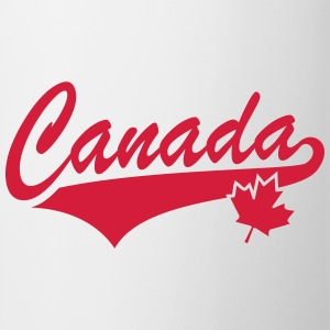 Canada Maple Leaf Tail-Design T-Shirt RW - Tasse