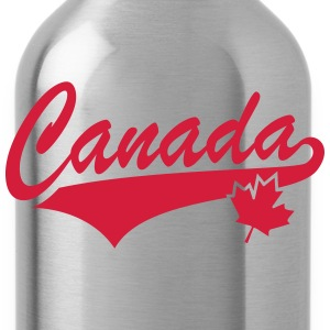 Canada Maple Leaf Tail-Design T-Shirt WR - Trinkflasche