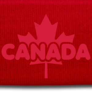 CANADA Maple Leaf Flag Design T-Shirt WR - Cappellino invernale