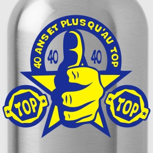 40 ans top ok pouce anniversaire Tee shirts - Gourde