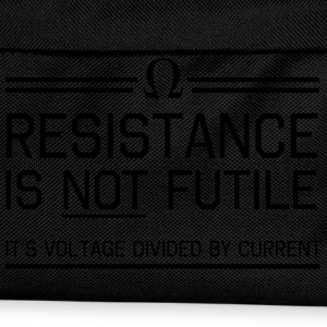 Resistance not futile Voltage divided by current T-Shirts - Kids' Backpack