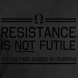 Resistance not futile Voltage divided by current T-Shirts - Men's Sweatshirt by Stanley & Stella