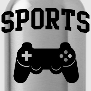 Sports Game Controller T-Shirts - Water Bottle