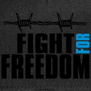 fight for freedom t-shirt T-Shirts - Snapback Cap