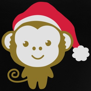 monkey_christmas Tröjor - Baby-T-shirt