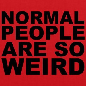 Normal People Are Weird Tee shirts - Tote Bag