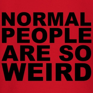 Normal People Are Weird T-Shirts - Baby Long Sleeve T-Shirt
