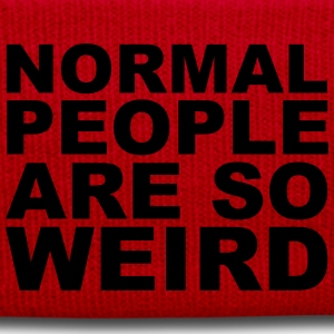 Normal People Are Weird Tee shirts - Bonnet d'hiver