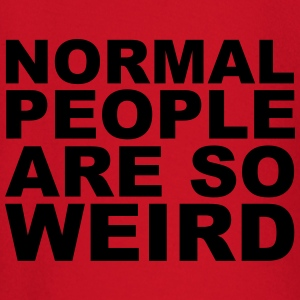 Normal People Are Weird T-shirts - Långärmad T-shirt baby