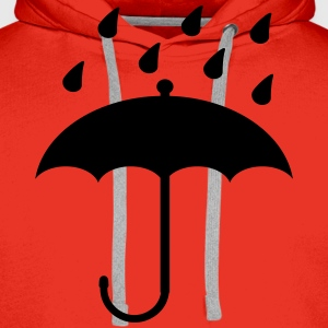 Umbrella  Tee shirts - Sweat-shirt à capuche Premium pour hommes