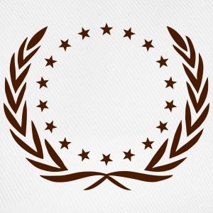 Laurel wreath, star, Award, Best, hero, winner,  T-shirts - Baseballcap