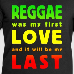 reggae was my first love multicolor T-Shirts - Men's Sweatshirt by Stanley & Stella