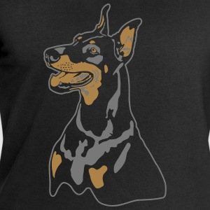 Dobermann Pinscher Head T-Shirts - Men's Sweatshirt by Stanley & Stella