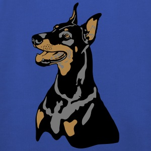 Dobermann Pinscher Head T-Shirts - Kids' Premium Hoodie