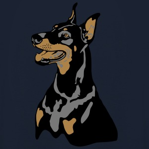 Dobermann Pinscher Head T-Shirts - Unisex Hoodie