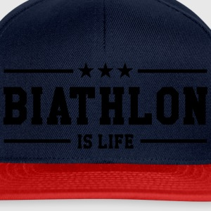Biathlon is life Shirts - Snapback Cap