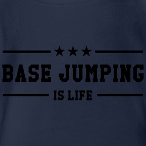 Base Jumping is life Tee shirts - Body bébé bio manches courtes