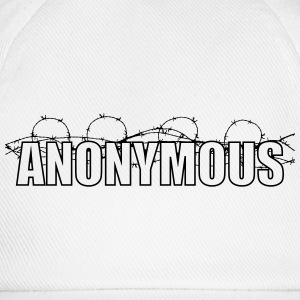 Anonymous T-shirts - Basebollkeps