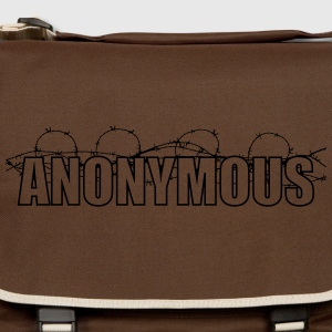 Anonymous T-shirts - Skuldertaske