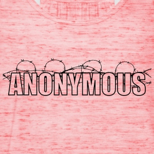 Anonymous T-shirts - Dame tanktop fra Bella