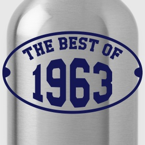 The Best of 1963 T-Shirts - Water Bottle