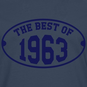 The Best of 1963 T-shirts - Mannen Premium shirt met lange mouwen