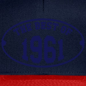 The Best of 1961 T-Shirts - Snapback Cap