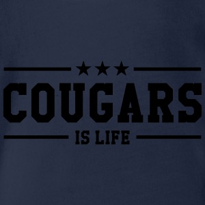 Cougars is life Tee shirts - Body bébé bio manches courtes