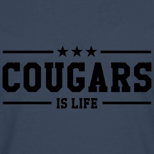 Cougars is life Tee shirts - T-shirt manches longues Premium Homme