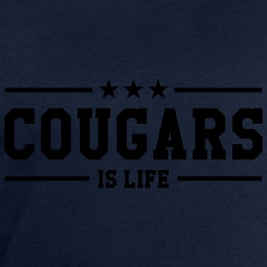Cougars is life Tee shirts - Sweat-shirt Homme Stanley & Stella