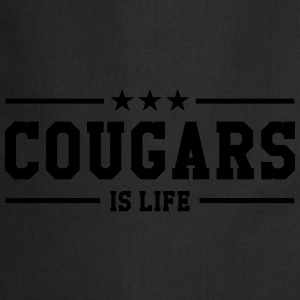 Cougars is life Tee shirts - Tablier de cuisine