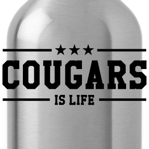 Cougars is life Tee shirts - Gourde