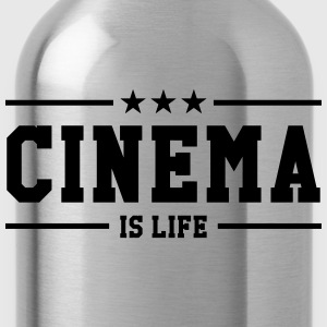 Cinema is life T-Shirts - Water Bottle