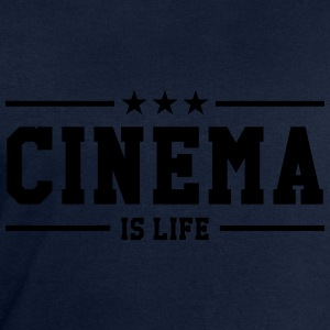 Cinema is life Tee shirts - Sweat-shirt Homme Stanley & Stella