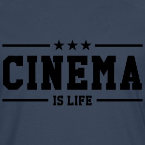 Cinema is life T-shirts - Mannen Premium shirt met lange mouwen