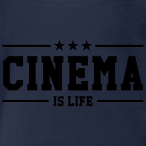 Cinema is life T-Shirts - Baby Bio-Kurzarm-Body
