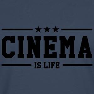 Cinema is life Skjorter - Premium langermet T-skjorte for menn