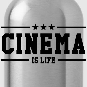 Cinema is life Shirts - Water Bottle