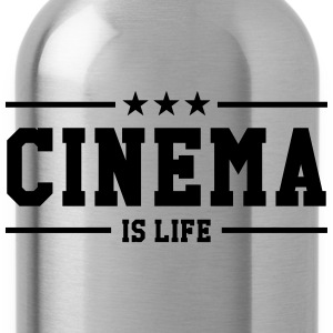 Cinema is life Magliette - Borraccia